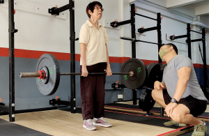 deadlift, strength training, active ageing, silver generation