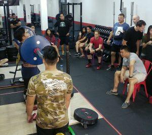 strengthlifting meet, press, barbell training