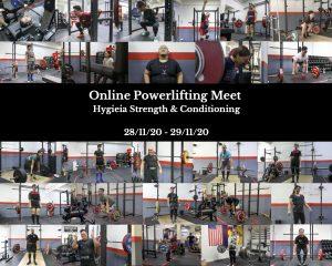 powerlifting, online powerlifting meet, squat, bench press, deadlift